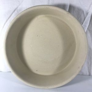 "Pampered Chef 8"" Round Stoneware Baker Cake Pie"